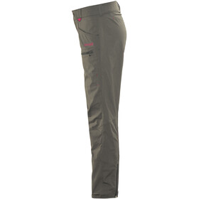 Bergans Utne Pants Youth Girls Solid Charcoal/Cerise/Dusty Cerise
